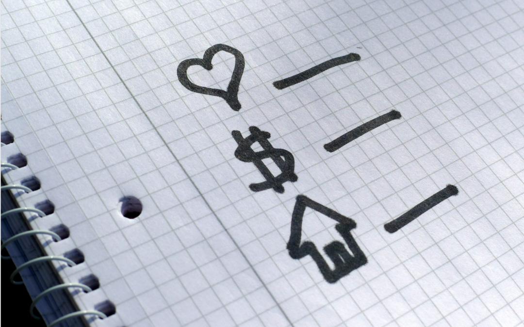 Cómo hacer una lista de lo que necesita y quiere para una casa